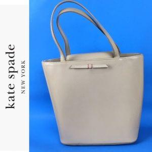 Kate Spade Cream Leather Bucket Bsg